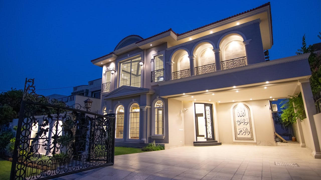 Inside a Majestic Spanish Casero 7.90 Crore 1 Kanal Villa in DHA Lahore l Tour by SyedBrother