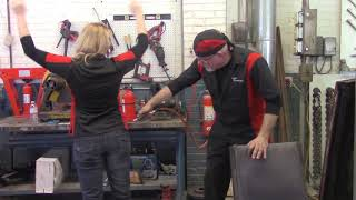 Rust Rescue, Behind the Scenes:  How to Clean Your Pants with an Air Compressor