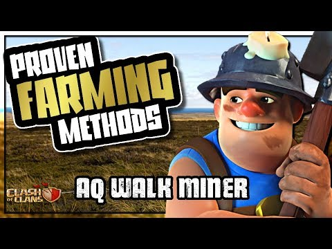 QUEEN WALK MINER - BEST DARK FARMING ARMY | PROVEN FARMING METHODS | Clash of Clans