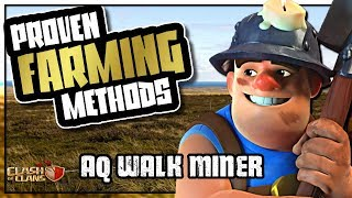 QUEEN WALK MINER - BEST DARK FARMING ARMY | PROVEN FARMING METHODS | Clash of Clans