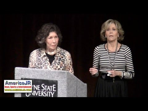 Lily Tomlin, Jane Fonda campaign for $12 minimum wage in Detroit