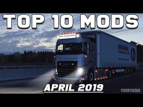 TOP 10 ETS2 MODS - APRIL 2019 | Euro Truck Simulator 2 Mods