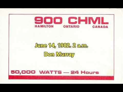 900 CHML Hamilton, Ontario Overnight 1982 DX