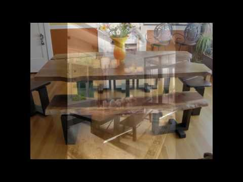 bench seat dining room table