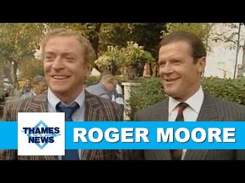 Roger Moore | James Bond, Michael Caine & Aspects of Love | Thames News