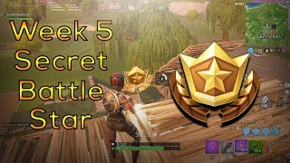 Trouver le Secret Battle Star Week 5 Défis Fortnite Lazy Links Massacre