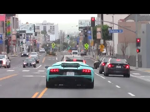 Wanna See Justin Bieber Run A Red Light In His Lamborghini Aventador? [CORRECTED]