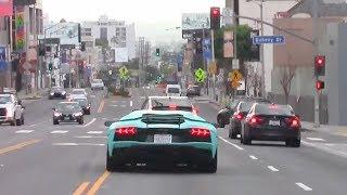 Wanna See Justin Bieber Run A Red Light In His Lamborghini Aventador? [CORRECTED]