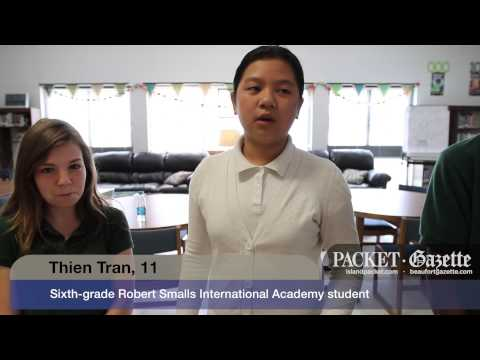 Robert Smalls International Academy students help to make a difference in the world