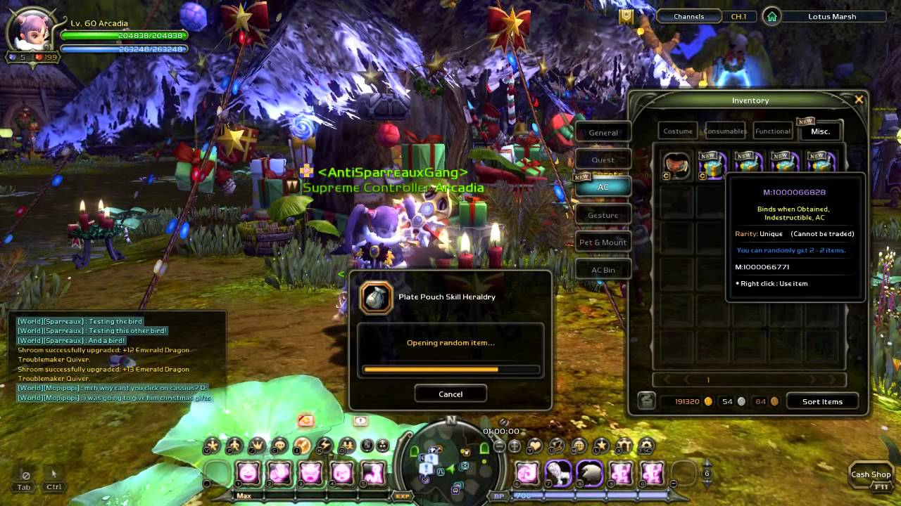 Dragon Nest Europe - Opening Christmas Deluxe Boxes (Christmas Wings and  Reindeer Mount preview)