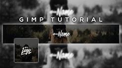 Designs mit GIMP erstellen! Banner + Profilbild Tutorial | dieserPhoenix