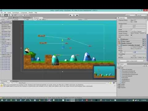 Creating 2D Games in Unity 4.5 #15 - Camera Controller