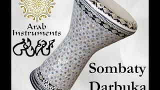 Solo darbuka / doumbek 15 - Gawharet El Fan Darbuka - belly dance -  ArabInstruments.com