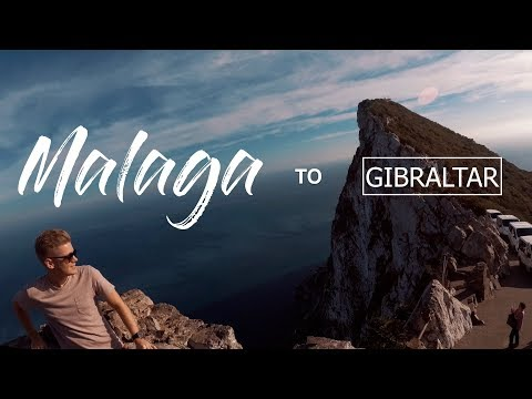 Malaga to Gibraltar | Spain 2018 | 4K Travel Film