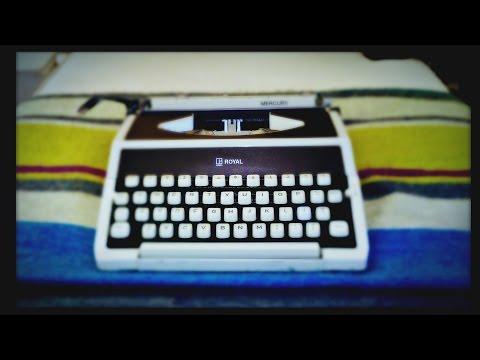 Typewriter Video Series Episode 38: Royal Mercury