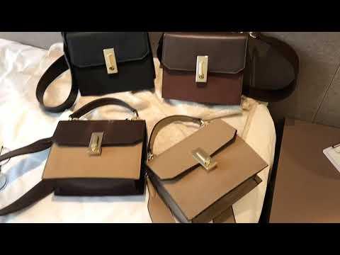 kirahosi 여자 대학생 직장인 신상 모던 크로스백 가방 + 덧신 증정 Fq4s80w