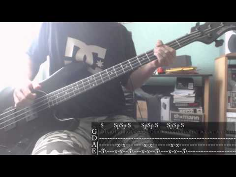 Maximum The Hormone - Buiikikaesu [Bass Cover + Tab]