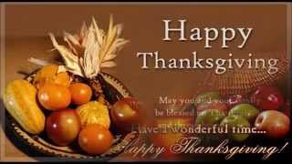 Happy Thanksgiving day SMS/wishes/greetings/E-card/Whatsapp video