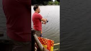 Milkfish fishing at aling nenes fond August 19 2018