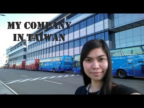 My Company Tour KYEC in Taiwan-Factory worker in taiwan Vlog