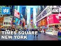 watch he video of Walking tour of Times Square in Midtown Manhattan, New York City Travel Guide 【4K】 🗽