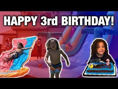 DASH'S 3RD BIRTHDAY CELEBRATION!