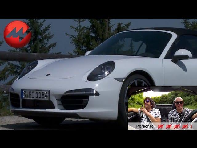 Münchner Innenstadt im Porsche 911 991 Carrera 4S Cabriolet - Porsche zählen