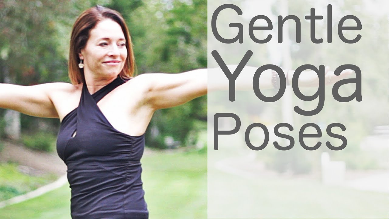 Yoga For Beginners At Home 15 Minute Gentle Poses Youtube