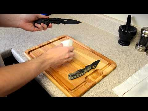 Knife Cleaning: Quick and Easy