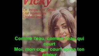 L Amour Est Bleu Vicky Leandro Lyrics