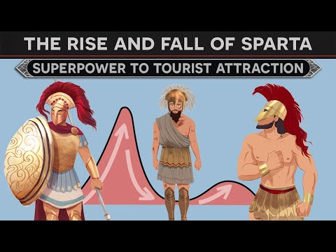 The Rise and Fall of Sparta - From Superpower to Tourist Attraction DOCUMENTARY
