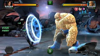 Ghost & Quake vs All Uncollected EQ Bosses - Marvel Contest of Champions