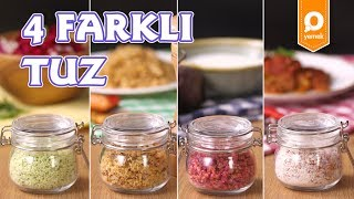 4 Farklı Tuz Tarifi - Onedio Yemek - Tek Malzeme Çok Tarif