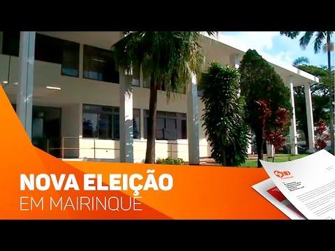Nova eleição em Mairinque - TV SOROCABA/SBT