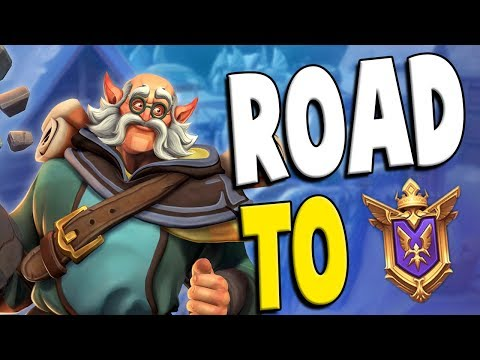 Ranked Torvald: Road to GM #42 | Paladins Gameplay