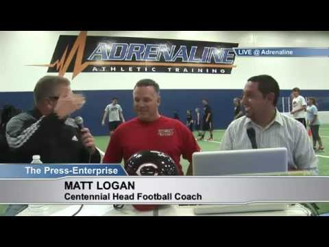 BLITZ 4-23-14: Centennial Football Coach Matt Logan and Riverside Poly Softball