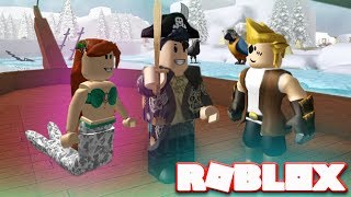ROBLOX NEVERLAND LAGOON - Mermaids / Pirates (Role-playing Game Lets Play)