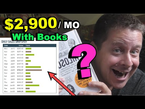 Make $1,000s Every Month Selling Books Online (crazy secret method - no writing)