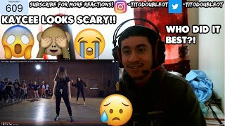 FKA twigs - Figure 8 - Choreography by Sean Lew - #TMillyTV ft Kaycee Rice REACTION!