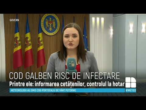 În Moldova A Fost Anunţat Cod Galben De Alertă Naţională Privind Coronavirusul De Tip Nou