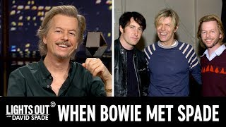 The Story Behind David Spade's Pic with David Bowie and Trent Reznor - Lights Out with David Spade