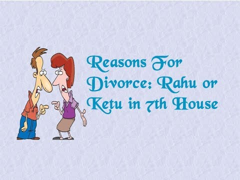 Astrological Reasons For Divorce