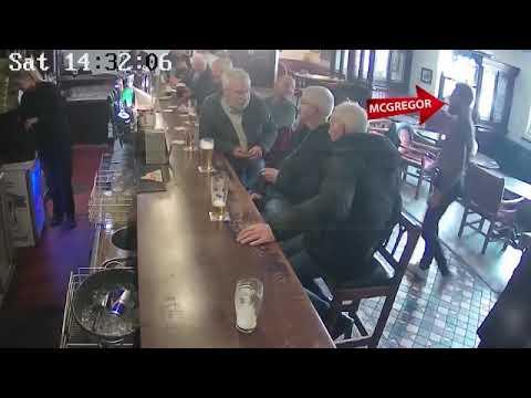 ЖЕСТЬ! КОНОР МАКГРЕГОР БЬЕТ СТАРИКА В ПАБЕ CONOR MCGREGOR PUNCHING OLD MAN IN PUB