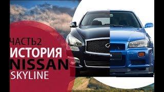 Nissan Skyline/Ниссан Скайлайн. Продолжение культовой истории! История Nissan Skyline. Часть 2.