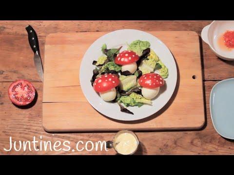 La receta para niños de la ensalada de David El Gnomo