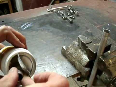 Пайка стыка, алюминиевая трубка Castolin 196 FC