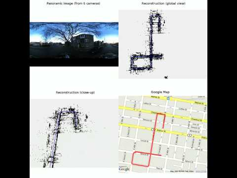 Monocular Visual Odometry in Urban Environments Using an Omnidirectional Camera, IROS2008