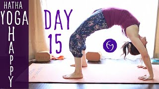 Day 15 Hatha Yoga Happiness: More Gratitude