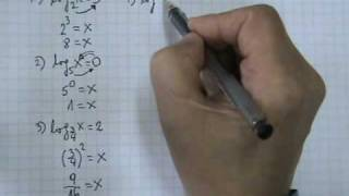 Logaritmos Ejercicios Definición