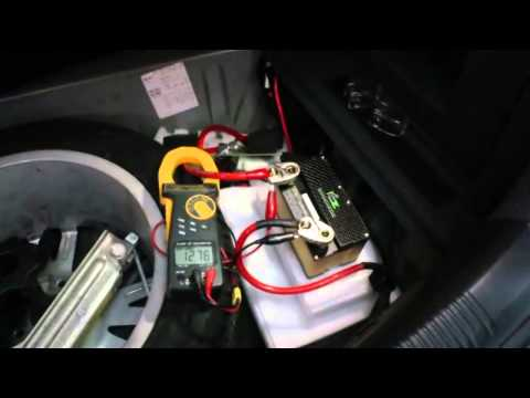 RCE-- A123 Lithium Ion Starter Battery-4.6Ah battery and ultracapacitors started Audi A6 2400cc